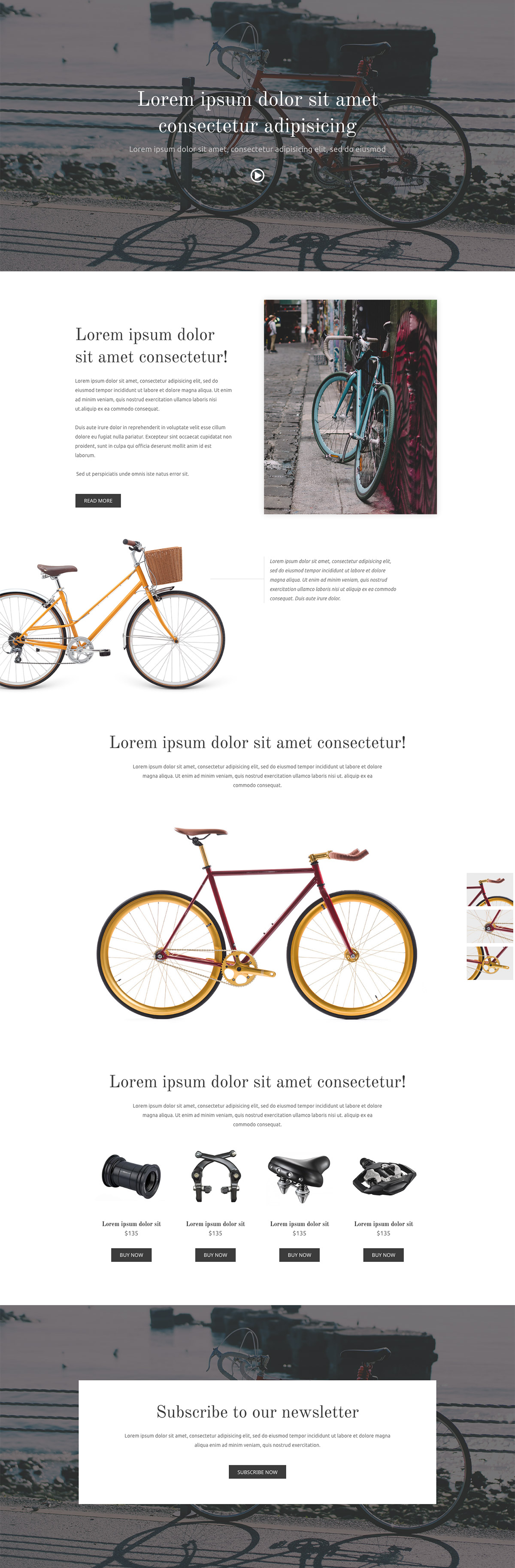 Bikeshop-Elementor-wp-template-preview