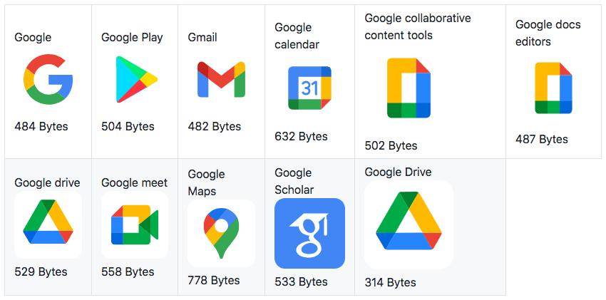 Google-SVG-logos