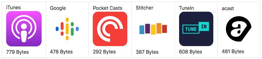 Podcasts-SVG-logos