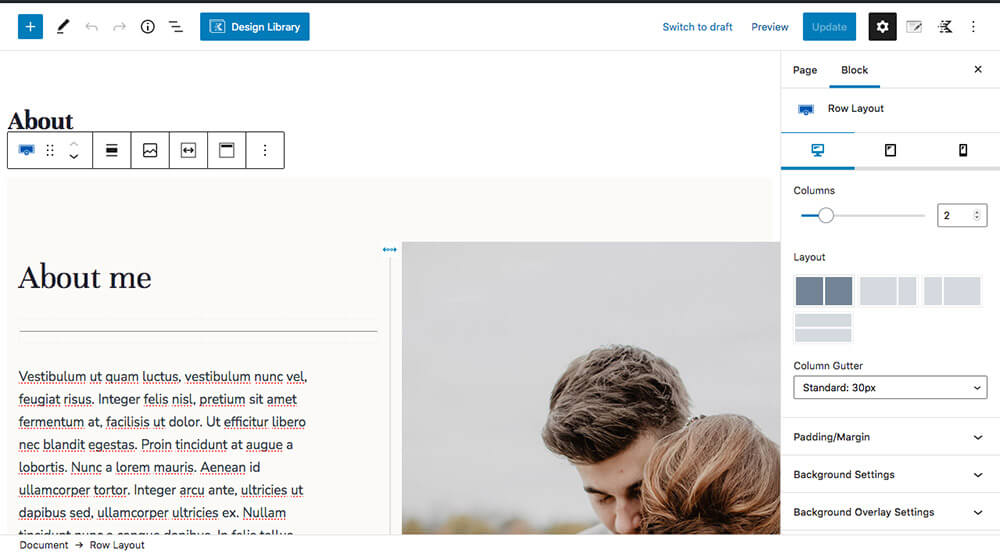 Edit-Page-Narita-WordPress-theme