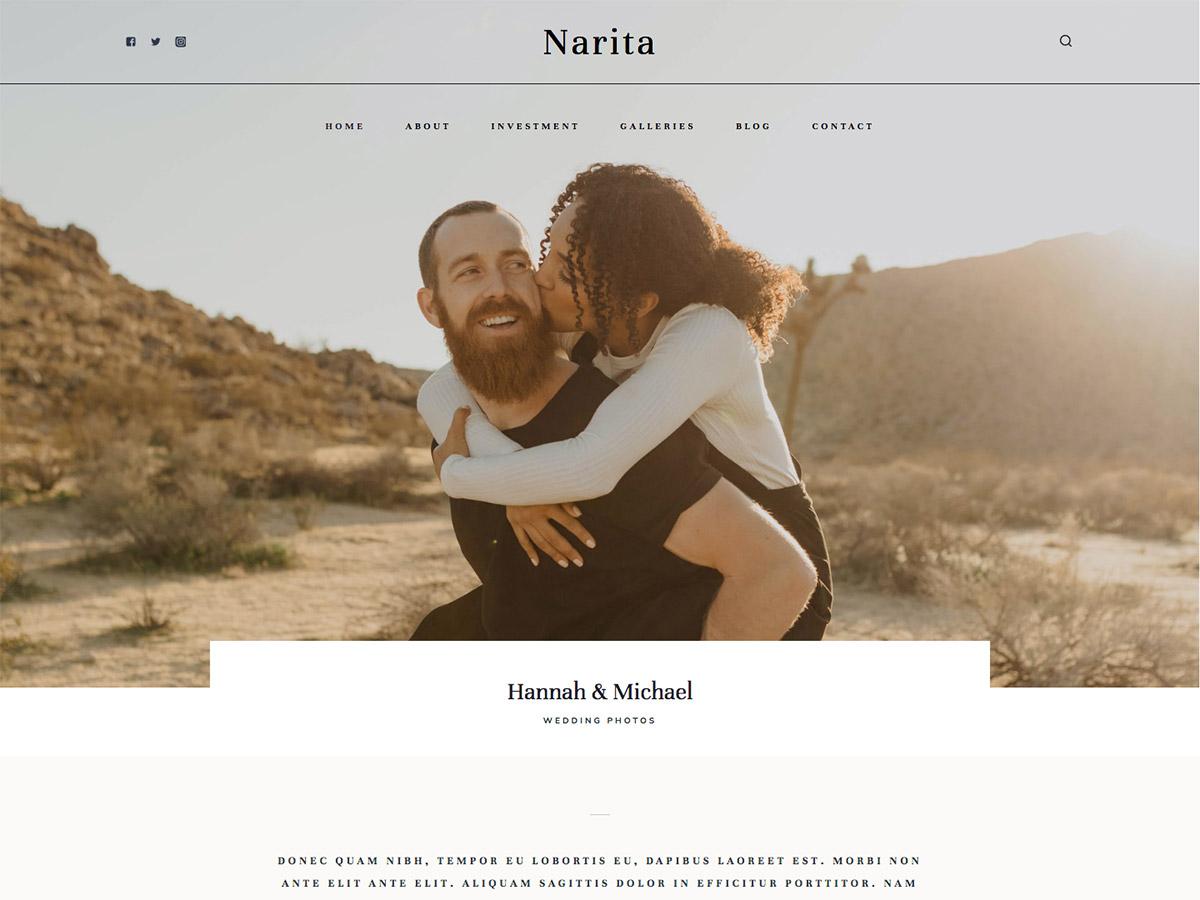 narita-theme-screenshot